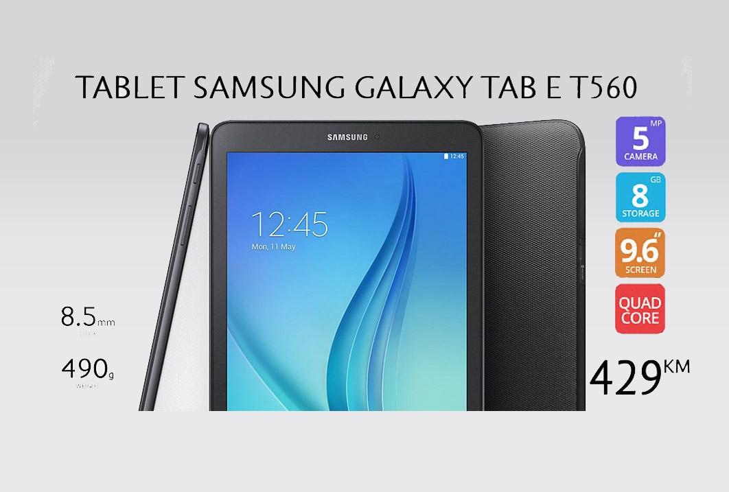 Samsung Galaxy Tab E T560 9.6 Black