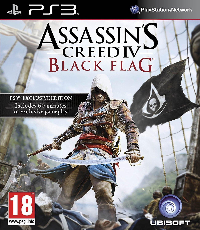 Assasins Creed Black Flag / PS3 - USED
