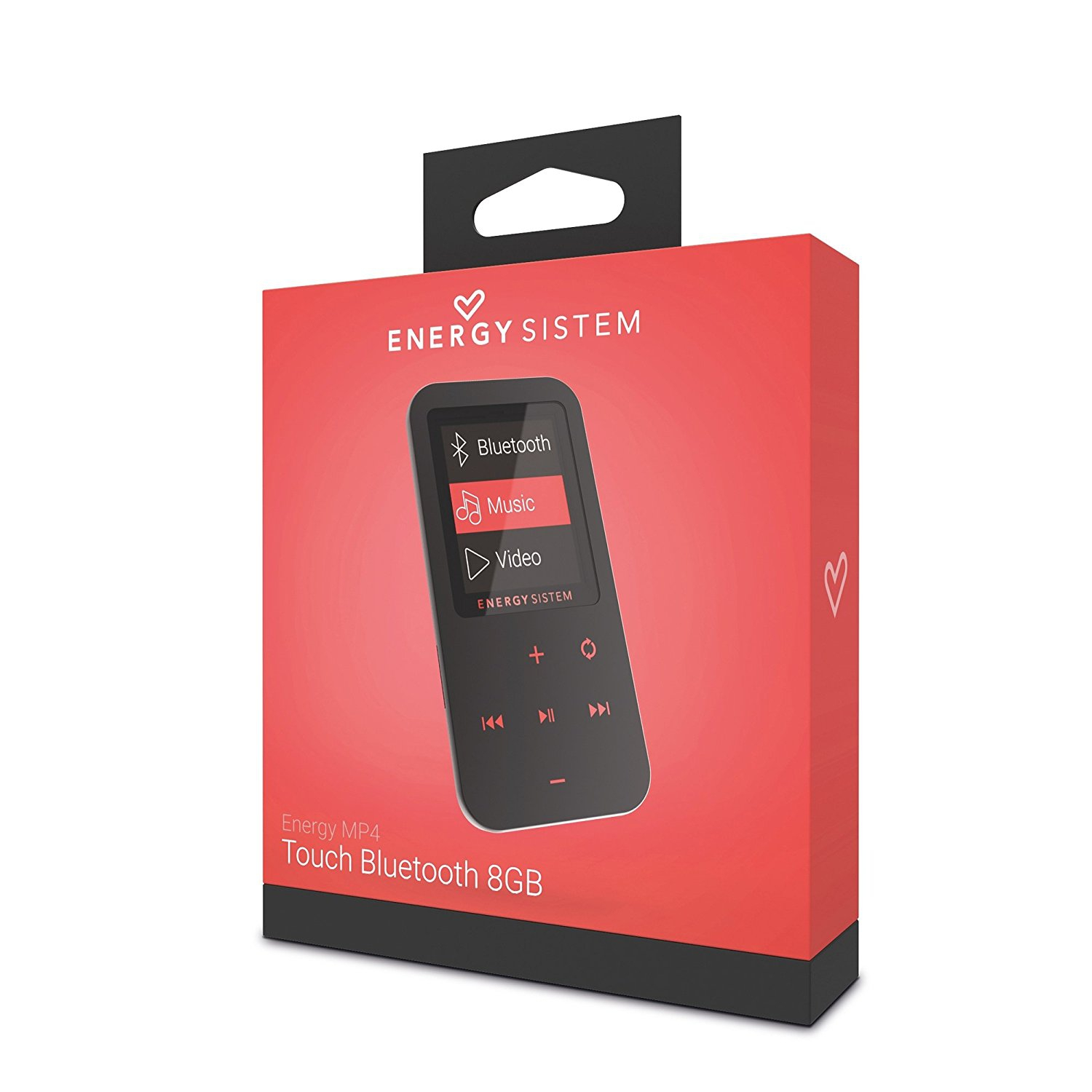 Energy Sistem - MP4 Touch Coral 8 GB