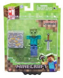 Figura Minecraft - zombie with accessory series1 /Merchandise