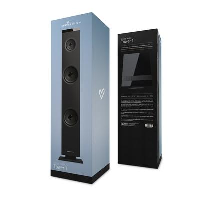Energy Sistem - Zvučnik crni Tower 1 Bluetooth Black