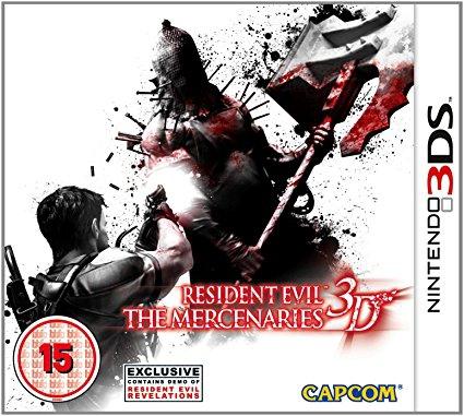 Resident Evil Mercanary /3DS
