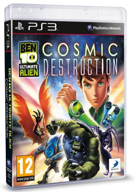 Ben 10 - Ultimate Alien - Cosmic Destruction /PS3