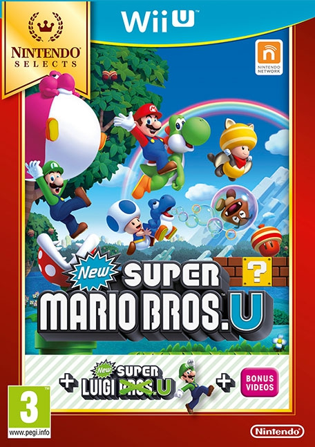 New Super Mario Bros and New Super Luigi /WiiU