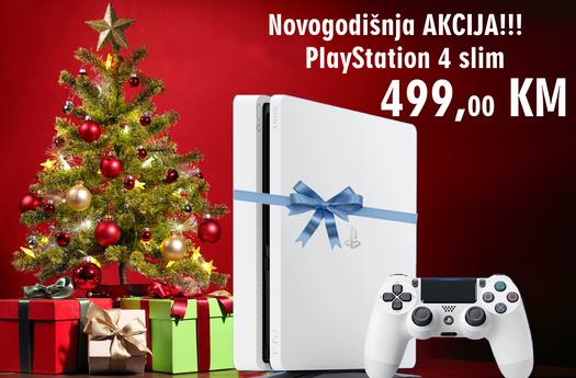 Konzola Playstation 4 500GB Slim E Chassis White