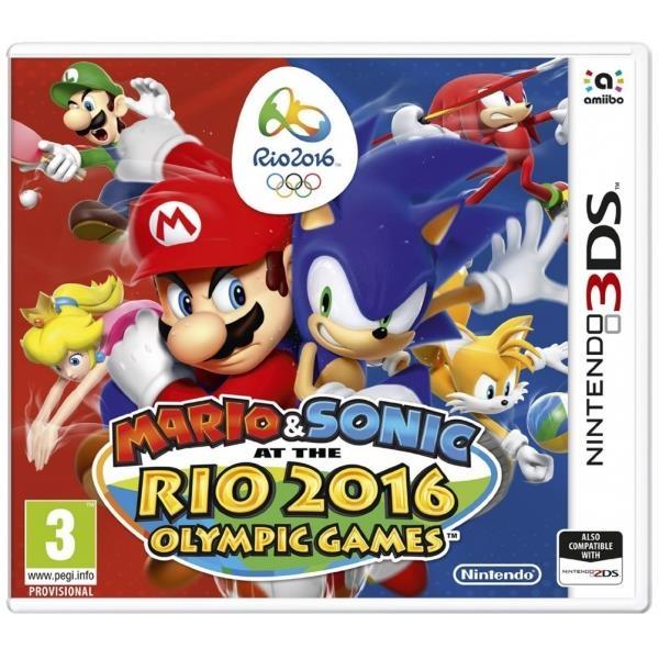 Mario and Sonic Rio 2016 + classic amiibo /3DS